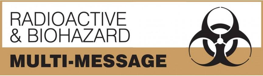 Radioactive and Biohazard Multi-Message