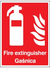 Fire Extinguisher (English / Polish)
