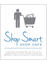 Shop Smart, Shop Safe - A Social Distancing Policy