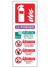 L2 Powder Extinguisher Identification