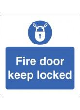 Fire Door Keep Locked