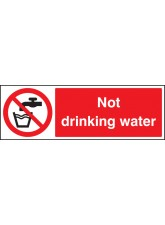 Not Drinking Water