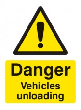 Danger Vehicles Unloading