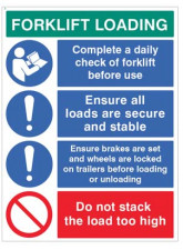 Forklift Loading Daily Checks - Secure Loads