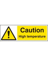Caution High Temperature
