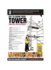 Pallet Racking Inspection Checklist Poster (A2)
