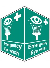 Emergency Eye Wash - Projecting Sign