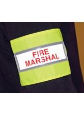 Fire Marshal Reflective Armband
