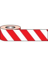 Self Adhesive Hazard Tape - 33m x 50mm - Red / White