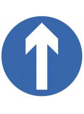 Floor Graphic - One Way Symbol