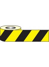 Anti Slip Tape - Black / Yellow Hazard - 18m x 50mm