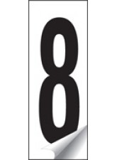 Identification Number 0-9 Set